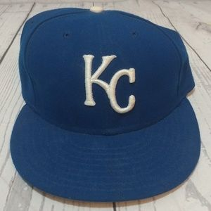 Kansas City Royals Fitted Baseball Hat